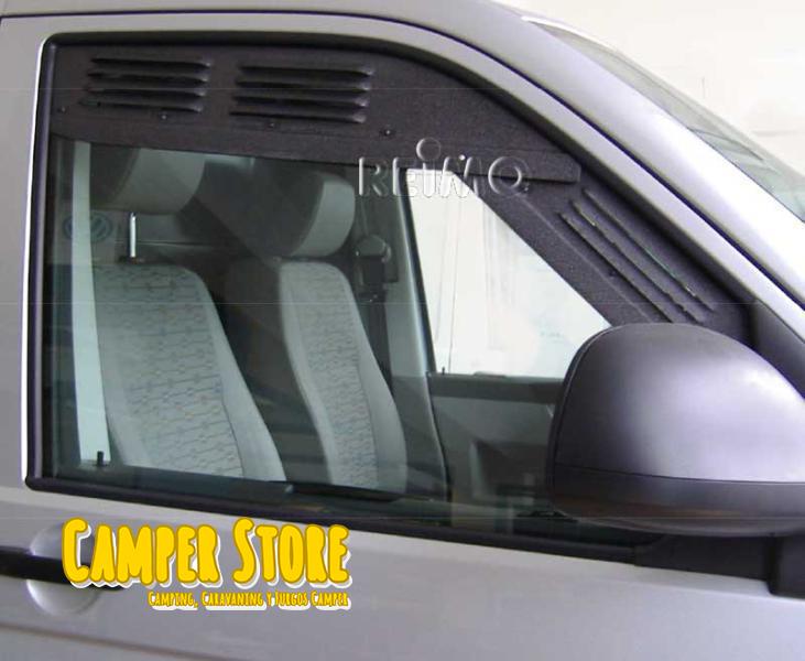 Air Vent VW T5 - T6. Sistema de Ventilación en ventana delantera