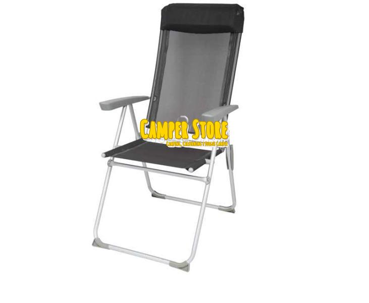 Silla de camping tortuga con respaldo ajustable camperstore - Sillas de camping ...