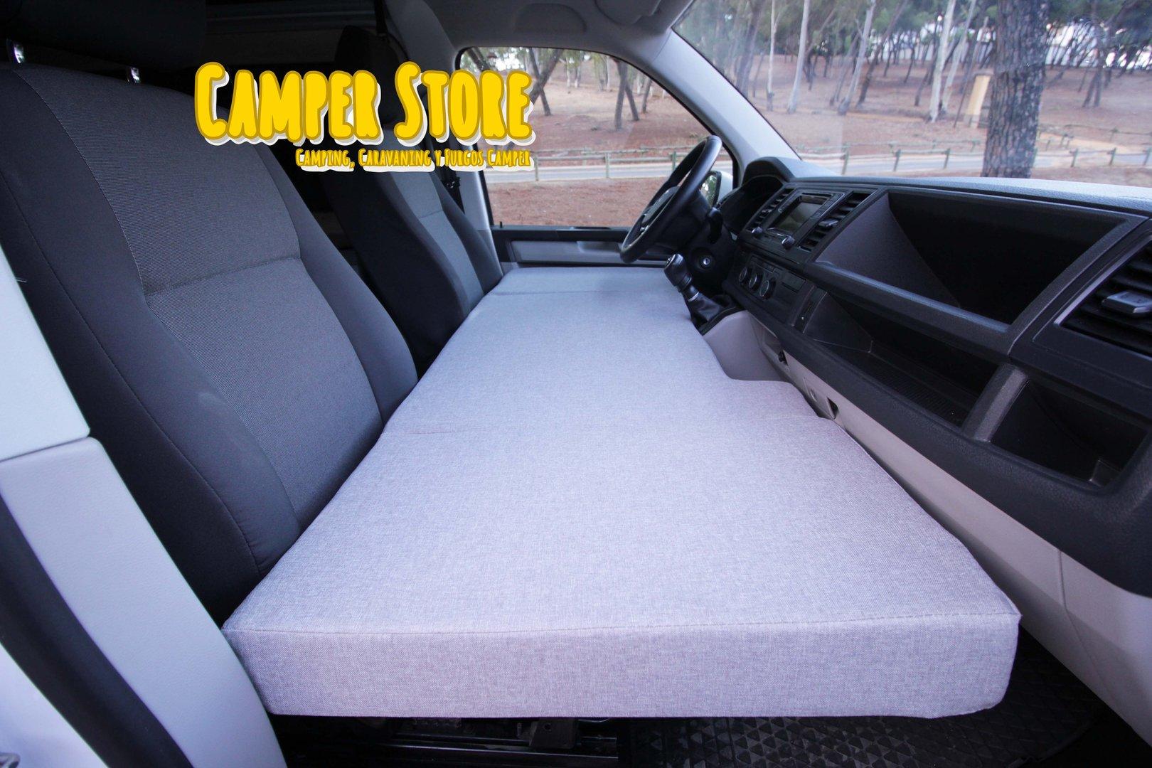 Cama plegable para ni os en asientos delanteros camperstore - Somier para ninos ...