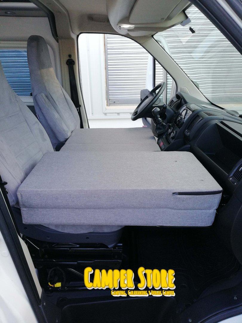 Cama plegable para ni os en asientos delanteros camperstore for Asientos para ninos