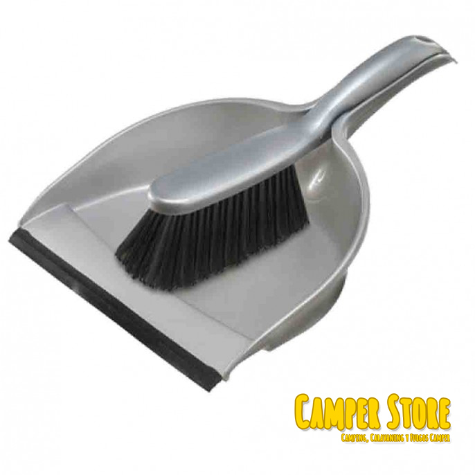 23 Camping Desserts The Ultimate Collection For Campers: Escoba Y Recogedor Mini. Apilables. Gris Y Negro