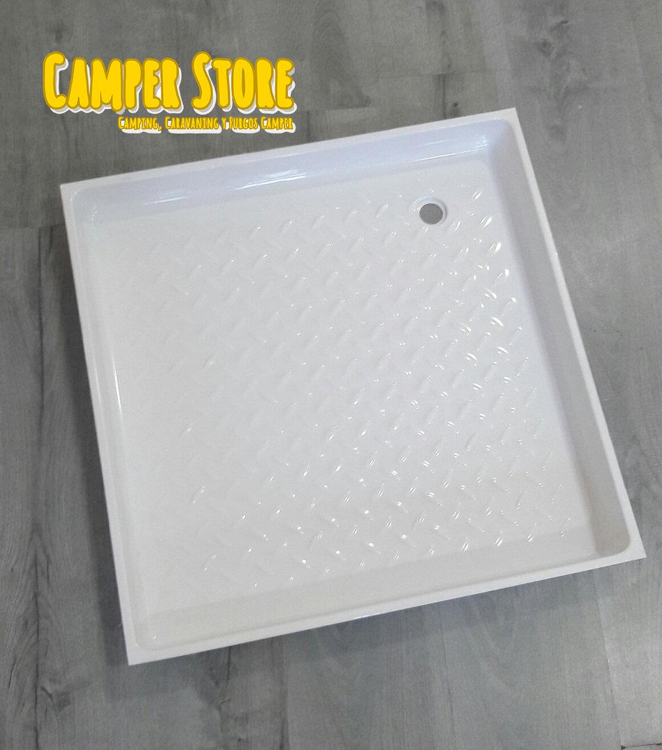 Plato de ducha sde medidas 610x610x70mm camperstore - Plato de ducha medidas ...