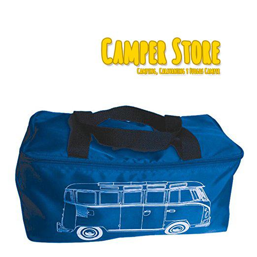 Manta para picnic vw bulli azul furgoneta camper camperstore - Manta de picnic ...