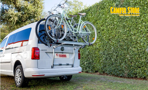 Portabicis Fiamma Carry Bike VW Caddy Portón